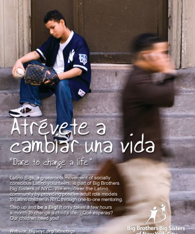 Latino Bigs youth mentoring in nyc logo