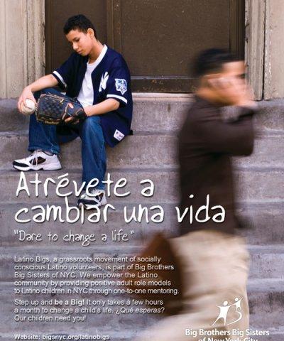 Latino Bigs youth mentoring in nyc logo
